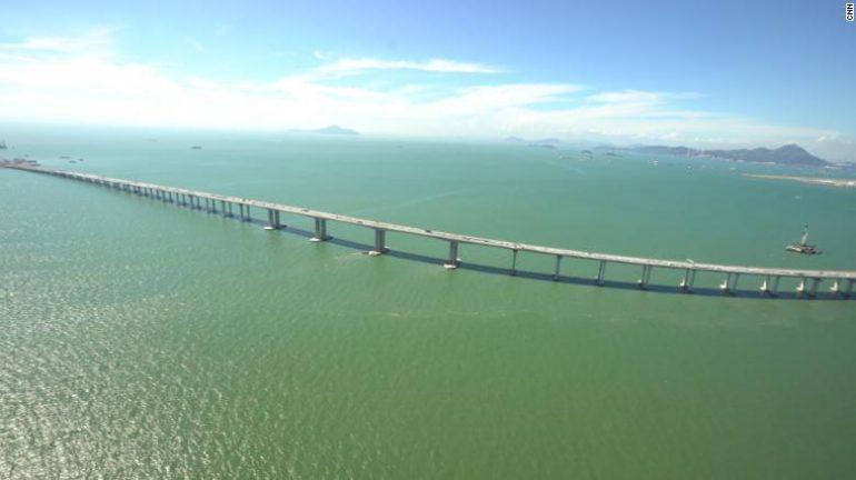 China abrirá el puente marítimo más largo del mundo