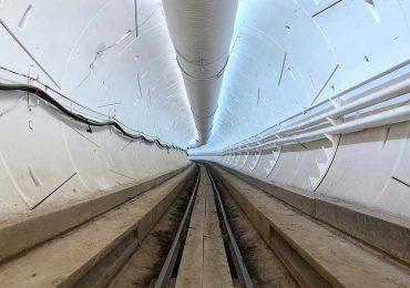 Túnel subterráneo de Boring Company de Elon Musk