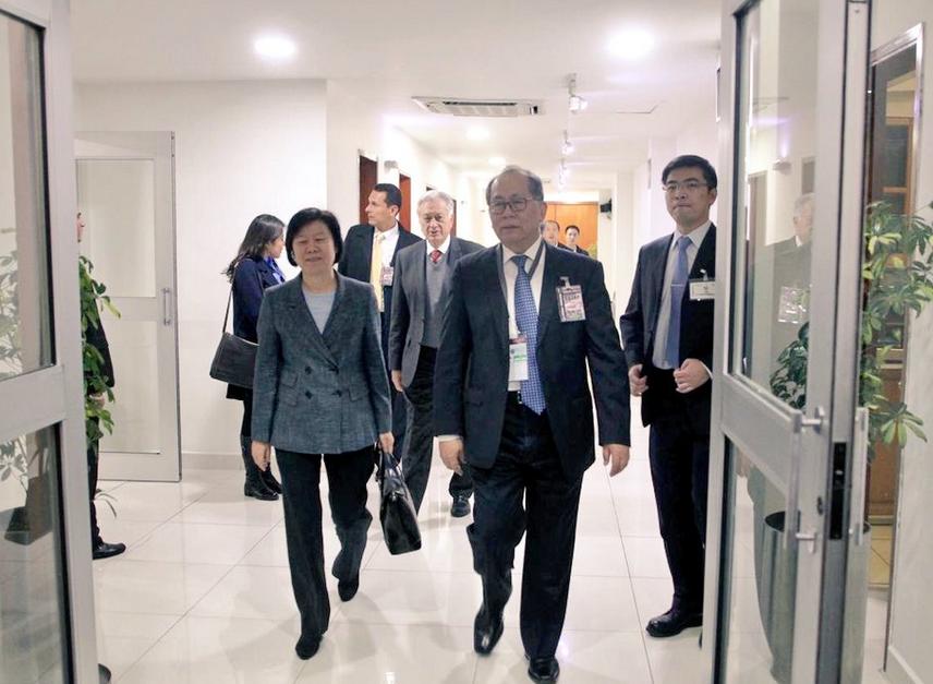 Los invitados de Andrés Manuel López Obrador: Chen Yueyue vicepresidenta China