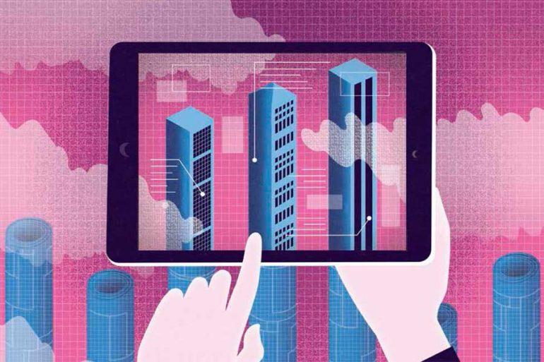 La industria de la construcción se está volviendo digital | Ilustración: Lindsay Daniels - Layton Construction