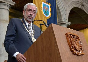 Enrique Graue, rector de la UNAM