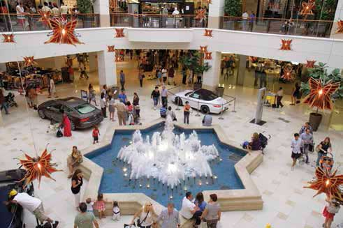 Miami shopping time | Interior of Aventura Mall. | Foto: Jeffrey Greenberg/UIG via Getty Images)