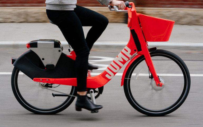 Jump, bicicletas de Uber