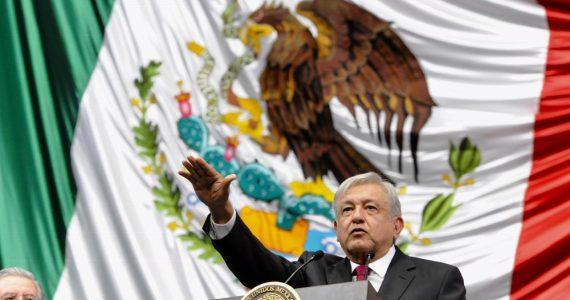 Toma de protesta del presidente Andrés Manuel López Obrador | Foto: Presidencia