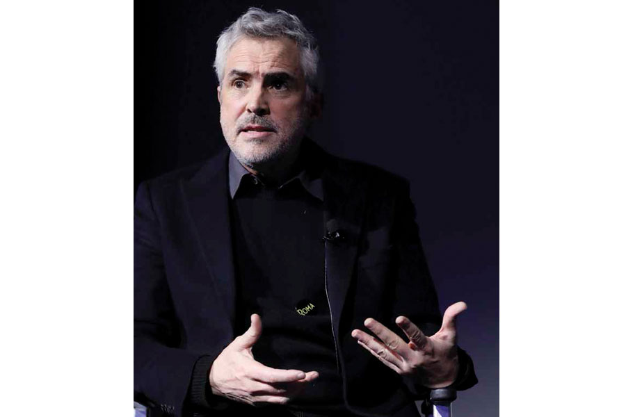 Alfonso Cuarón, director de la cinta Roma | Foto: Getty Images
