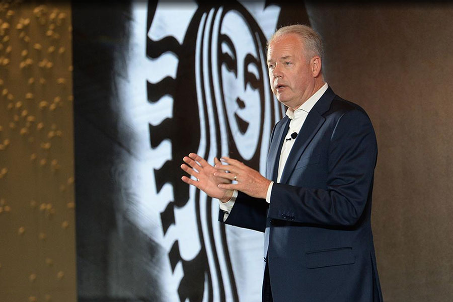 Kevin Johnson de Starbucks