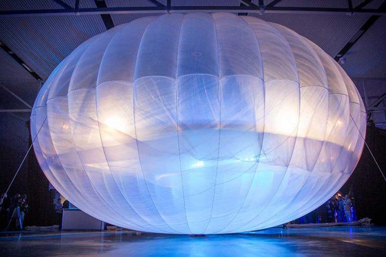Loon, el servicio de Internet en globos de Google se dirige al Espacio