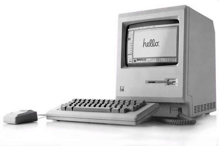 Mac de Apple cumple 35 años   Foto: Twitter de Tim Cook