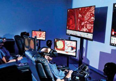 La realidad virtual se vuelve real en medicina   Foto: cortesía Johnson&Johnson