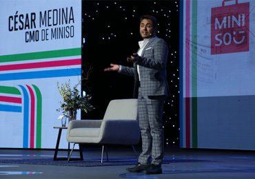 César Medina, CMO de MINISO | Foto: Paulina Munive