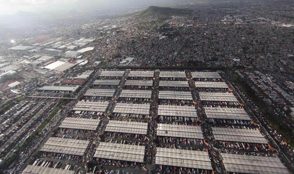 La Central de Abasto de la CDMX abarca 327 hectáreas | Foto: cortesía Santiago Arau