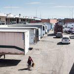 Los camiones que llevarán mercancía a todo México | Foto: Carlos Aranda