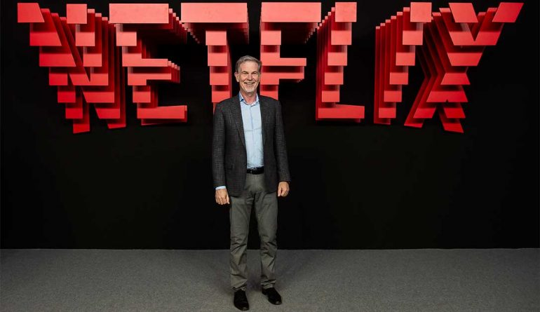 Reed Hastings, CEO de Netflix | Foto: Getty Images