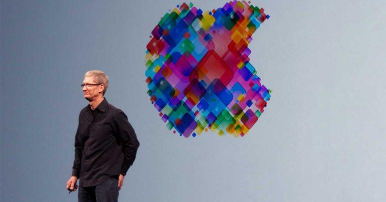 Tim Cook, CEO de Apple | Foto: Mike Deerkoski