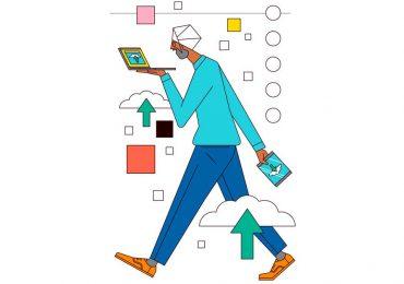 Ranking Fortune | Las 100 mejores compañías para trabajar 2019: #71-80 | En Workiva, los expertos en software están en Cloud Nine | Ilustración: Sam Peet