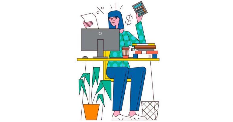 Las 100 mejores compañías para trabajar | En RYAN, existe un equilibrio entre le trabajo y la vida | Ilustración: Sam Peet