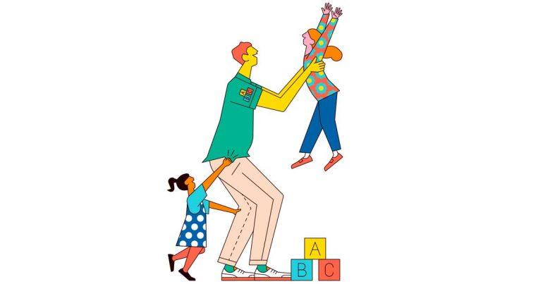 Ranking Fortune | Las 100 mejores compañías para trabajar 2019: #61-70 | En Bright Horizon, el Staff se prepara en el cuidado de los niños | Ilustración: Sam Peet