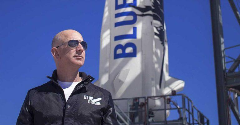 Jeff Bezos quiere poblar la Luna | Foto: Blue Origin