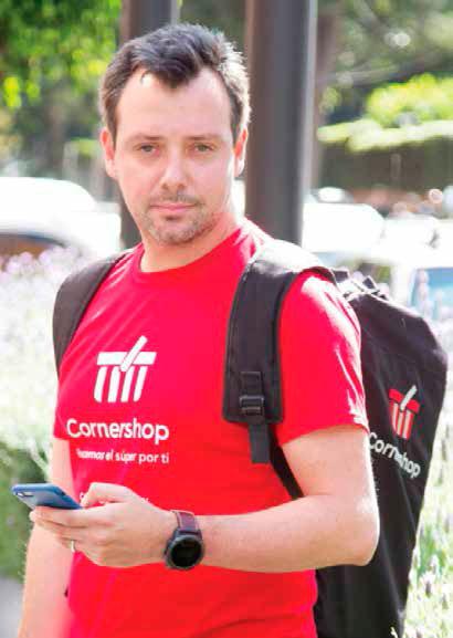 Daniel Undurraga, cofundador de Cornershop (CDMX, enero 2018) | Foto: Gabriel González