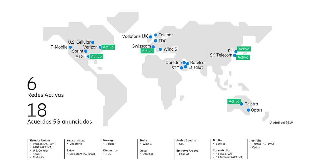 Despliegue comercial 5G Ericsson | Imagen: cortesía Ericsson