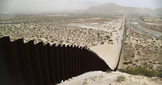 Muro fronterizo entre Estados Unidos y México desde Ciudad Juárez, México. Foto: Mario Tama/Getty Images