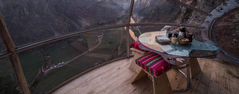 Skylodge Adventure Suites en Urubamba | Foto: cortesía Airbnb