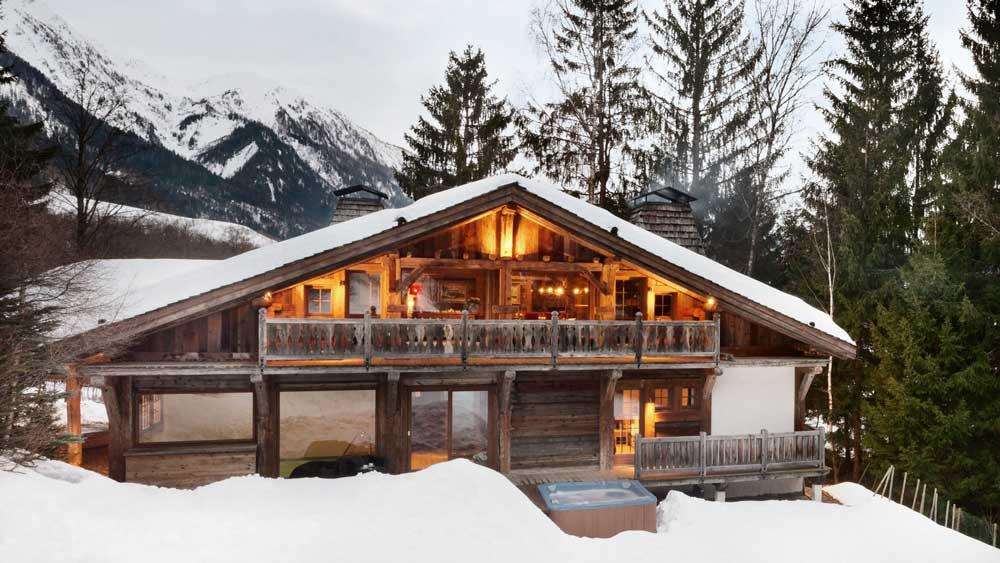 Airbnb luxe: Chalet Baloo, Chamonix en Francia | Foto: Airbnb
