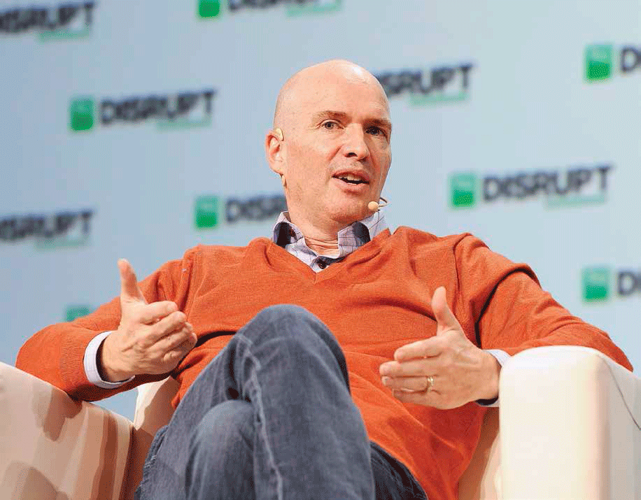 Ben Horowitz, cofundador y General Partner de Andreessen Horowitz, en TechCrunch Disrupt SF 2018, en San Francisco, California | Foto: Getty Images