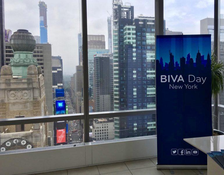 BIVA Day de la Bolsa Institucional de Valores en Nueva York   Foto: Victoria Gaytan Olaguivel/Fortune en Español
