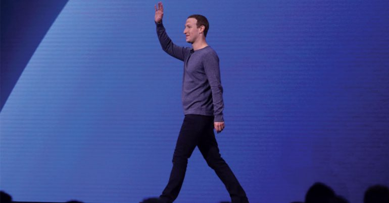 Mark Zuckerberg durante la conferencia del F8 2019 en San Francisco | Foto: Getty Images