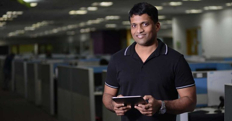 Byju Raveendran, creador de Think & Learn Pvt en la India | Foto: Getty Images