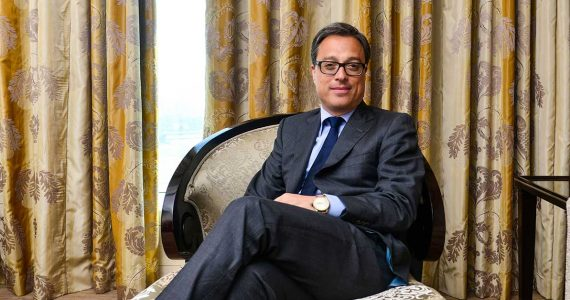 Nicolas Baretzki, CEO de Montblanc Internacional | Foto: Getty Images