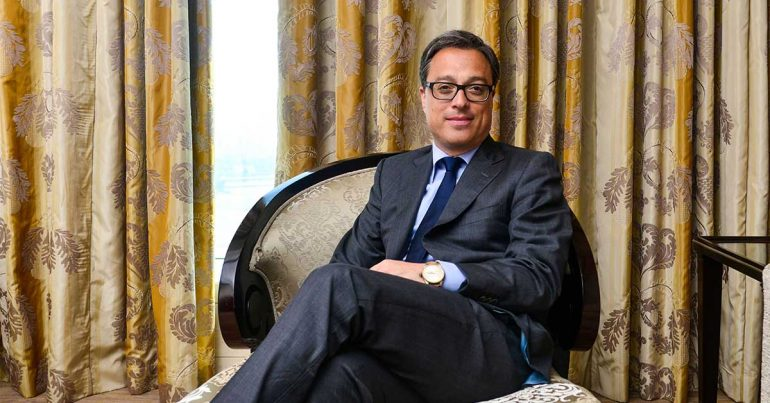 Nicolas Baretzki, CEO de Montblanc Internacional | Foto: Getty Images