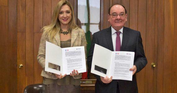 UNAM y BIVA firman convenio para promover la educación financiera | Foto: cortesía BIVA