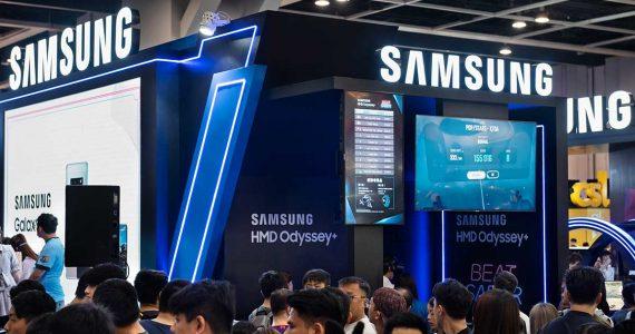 Las ganancias de Samsung se desploman entre tensiones comerciales | foto: Getty Images