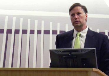 Christopher Landau, embajador de Estados Unidos en México | Foto: screenshot de su discurso