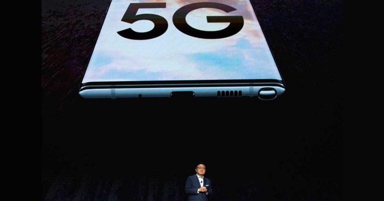 El Galaxy Note 10 de Samsung podría ser una consola de videojuegos 5G | Foto: Getty Images