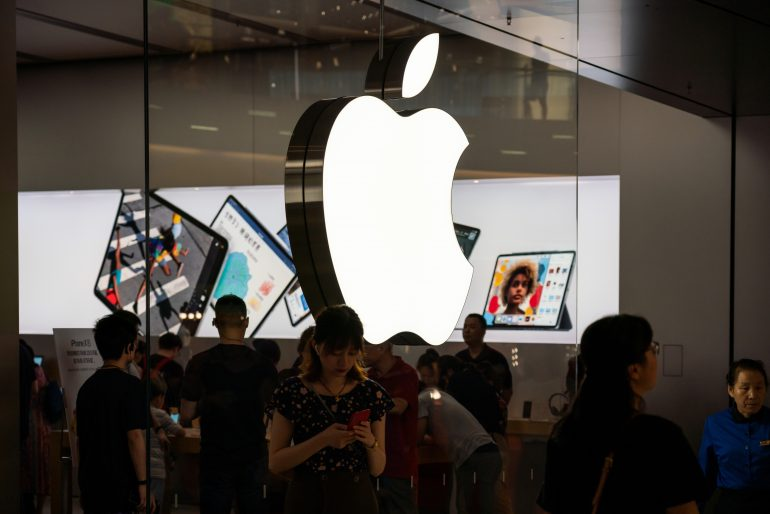 Apple en Shanghai, China | Foto: Getty Images