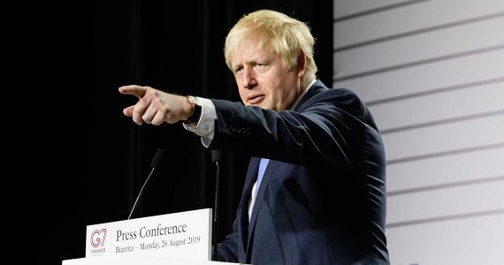 Boris Johnson, primer ministro británico   Foto: Getty Images