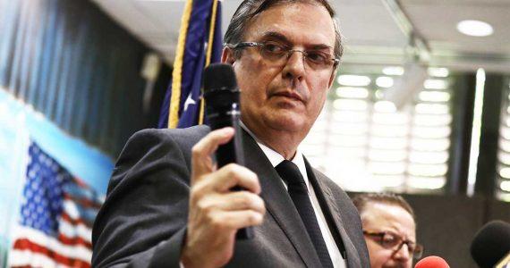 Marcelo Ebrad, secretario de Relaciones Exteriores de México   Foto: Getty Images