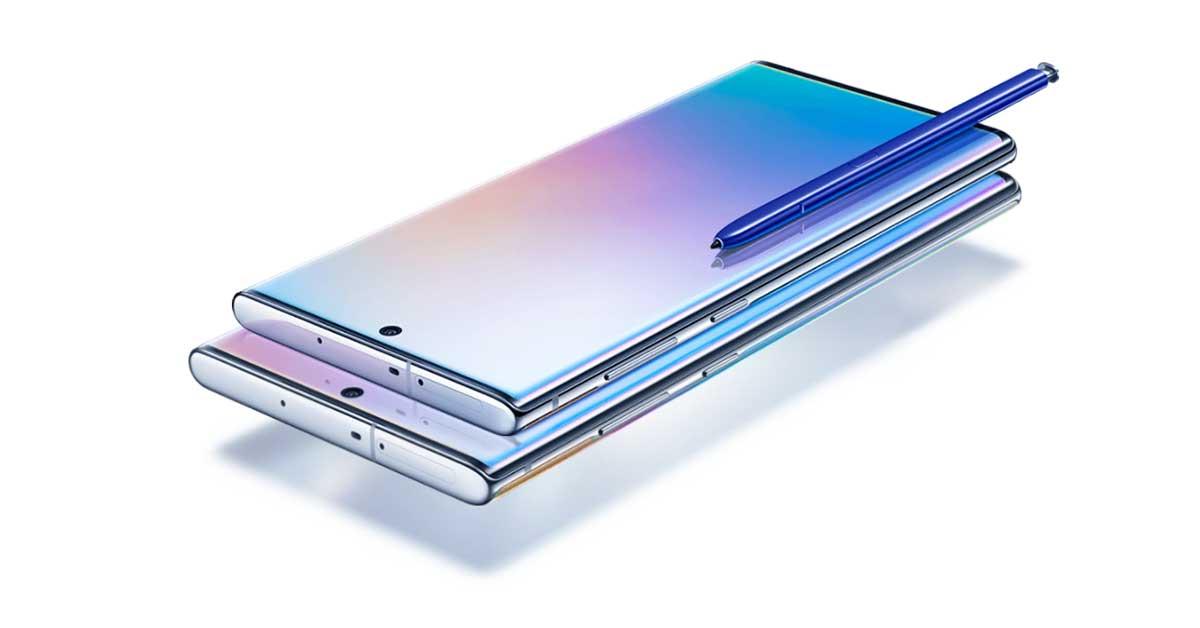 Galaxy Note 10, el esperado smartphone de Microsoft y hecho por Samsung   Foto: Samsung