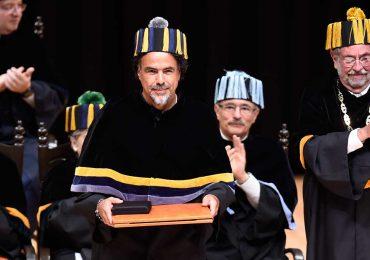 Alejandro González Iñárritu recibe Doctor 'Honoris Causa'   Foto: AFP
