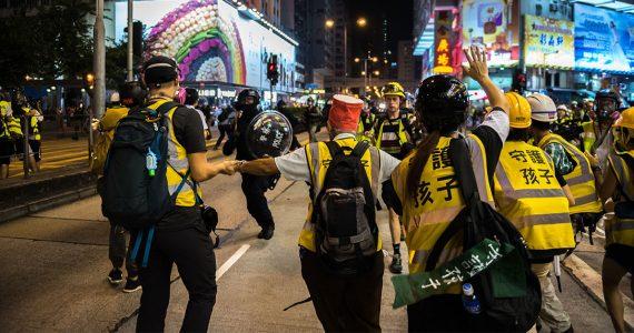 Protestas en Hong Kong   Foto: Getty Images