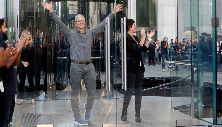 Tim Cook, CEO de Apple | Foto: Getty Images