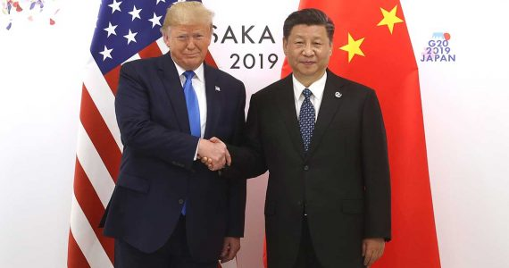 Donald Trump, presidente de EE.UU. y Xi Jinping, presidente de China | Foto: Getty Images