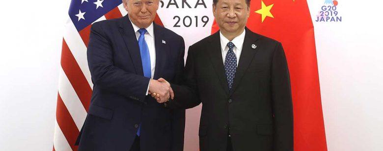 Donald Trump, presidente de EE.UU. y Xi Jinping, presidente de China   Foto: Getty Images