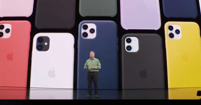 Presentación del iPhone 11