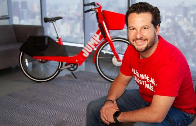 Roberto Fernández, director de Innovación en Movilidad para Uber América Latina | Foto: Gabriel González/Fortune en Español