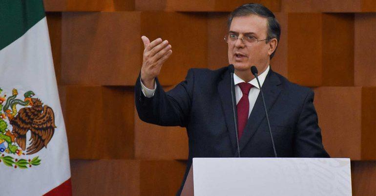 Marcelo Ebrard, secretario de Relaciones Exteriores de México | Foto: Getty Images