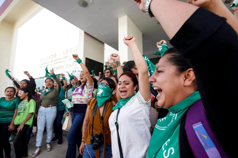 Despenalizan aborto en Oaxaca | Foto: Reuters